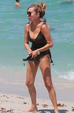 MARYSOL PATTON adn LAUREN FOSTER in Bikinis on the Beach in Miami 07/02/2017