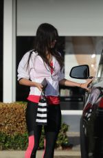 MEGAN FOX in Leggings Out in Malibu 07/18/2017