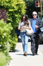 MEGHAN MARKLE Arrives at Her Home in Toronto 06/06/2017