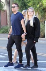 MEGHAN TRAINOR Out Shopping at The Grove in Hollywood 07/03/2017