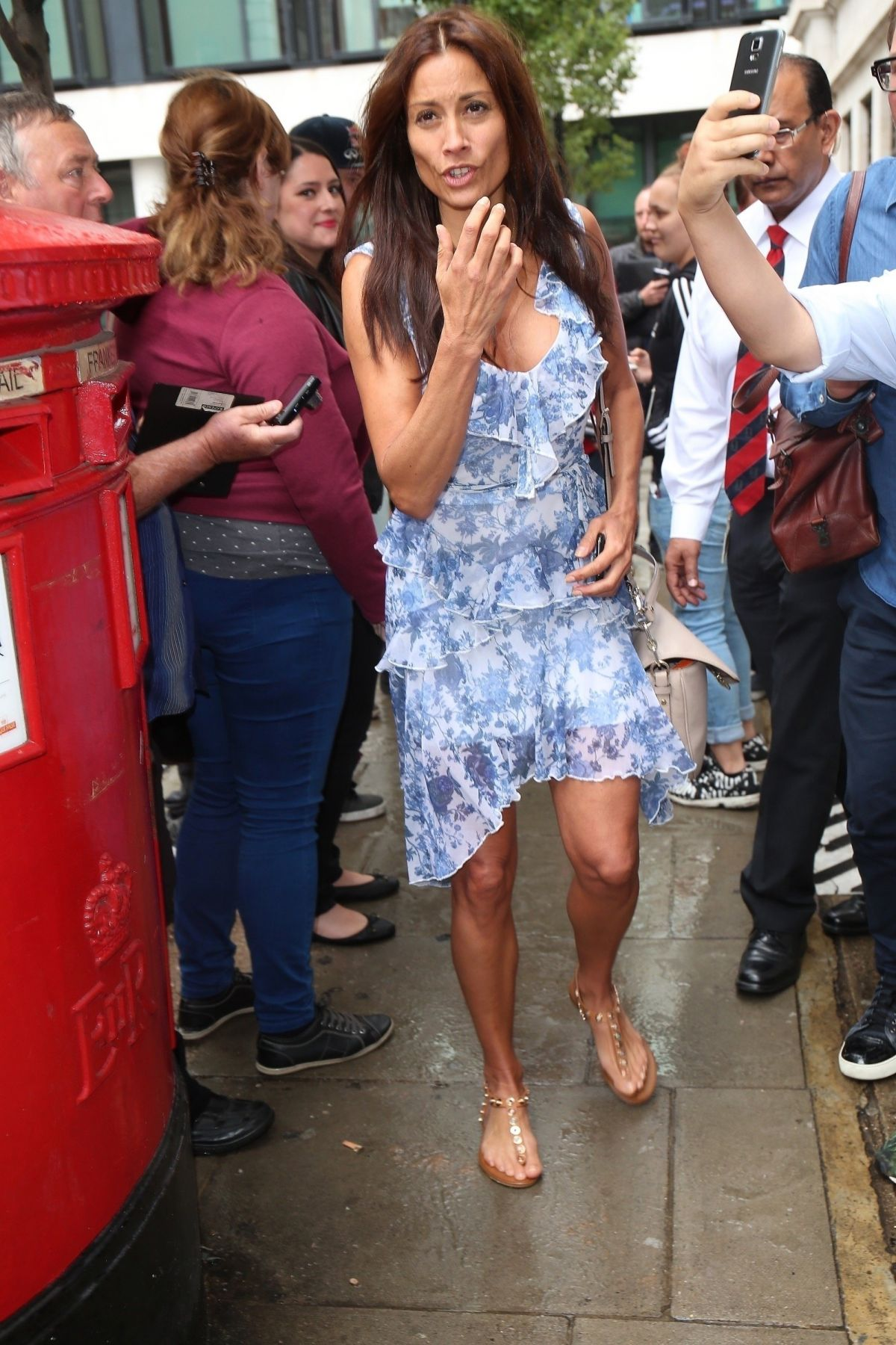 MELANIE SYKES Arrives at BBC Wogan House in London 07/22/2017