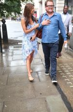 MELANIE SYKES Arrives at BBC Wogan House in London 07/22/2017