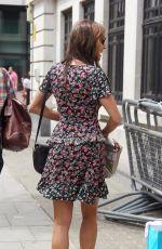 MELANIE SYKES Leaves BBC Radio Studios in London 07/08/2017