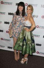 MENA SUVARI at Becks Screening at Outfest Festival in Los Angeles 07/09/2017