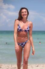 MICHELLE FEDALTO in Bikini at a Beach in Miami 07/08/2017