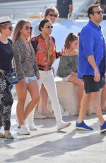 MICHELLE RODRIGUEZ and CHLOE GREEN Out in Saint Tropez 07/08/2017