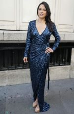 MICHELLE RODRIGUEZ at Azzedina Alaia Fashion Show in Paris 07/05/2017