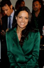 MICHELLE RODRIGUEZ at Ralph Russo Fashion Show in Paris 07/03/2017