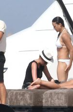 MICHELLE RODRIGUEZ in Bikini in St Tropez 07/07/2017