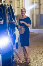 MICHELLE WILLIAMS Out for Dinner at Pierluigi