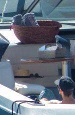 MILIE MACKINTOSH on Vacation in Mykonos 07/26/2017