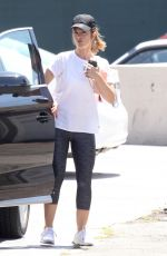 MINKA KELLY Arrives at a Gym in West Hollywood 07/07/2017
