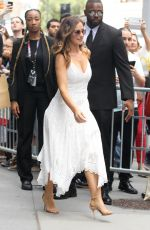 MINKA KELLY Arrives at AOL Build Studios in New York 07/26/2017