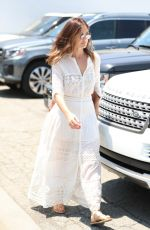 MINKA KELLY in White Out in Beverly Hills 07/12/2017