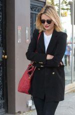 MISCHA BARTON Out in New York 07/20/2017