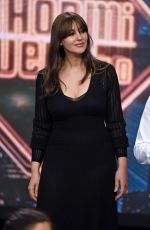 MONICA BELLUCCI at El Hormiguero TV Shoe in Madrid 07/04/2017