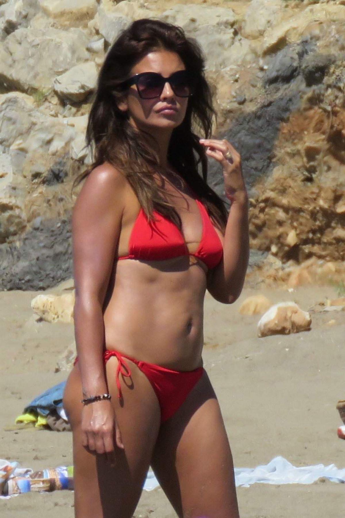 MONICA CRUZ in Bikini on the Beach in Marbella 07/05/2017