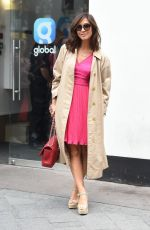 MYLEENE KLASS Out and About in London 07/20/2017