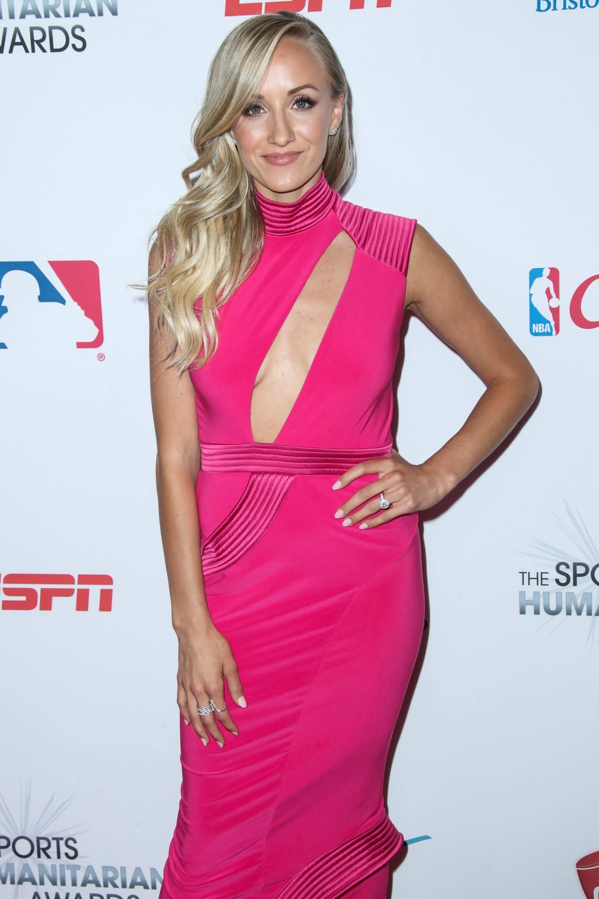 NASTIA LIUKIN at 3rd Annual Sports Humanitarian of the Year Awards in Los Angeles 07/11/2017
