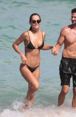 NATALIA BORGES in Bikini at a Beach in Miami 07/02/2017