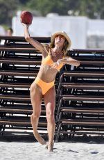 NATALIA BORGES in Bikini on the Beach in Miami 07/01/2017