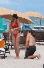 NATALIA BORGES in Bikini on the Beach in Miami 07/04/2017