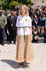 NATALIA VODIANOVA at Christian Dior Show at Haute Couture Fashion Week in Paris 07/03/2017