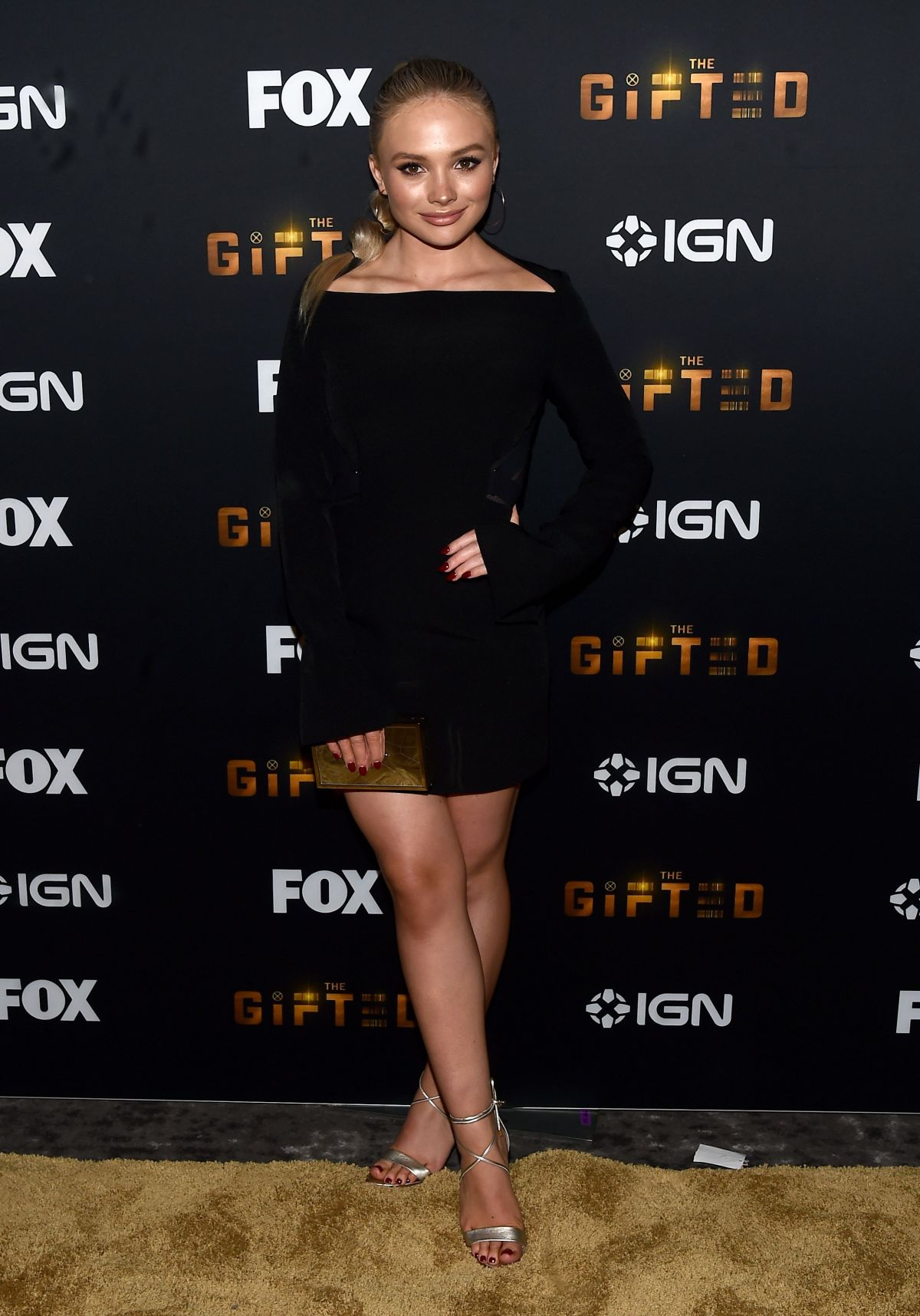 NATALIE ALYN LIND at The Gifted Party at Comic-con in San Diego 07/21/2017