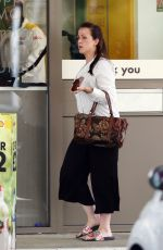 NATALIE CASSIDY at a Gas Station in Hertfordshire 07/05/2017