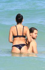 NATALIE MARTINEZ in Bikini on the Beach in Miami 07/14/2017