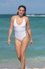 NATALIE MARTINEZ in Swimsuit at a Beach in Miami 07/08/2017