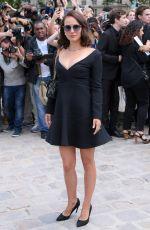 NATALIE PORTMAN at Christian Dior Fashion Show in Paris 07/03/2017