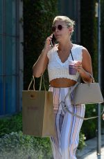 NATASHA OAKLEY Out and About in West Holylwood 07/16/2017