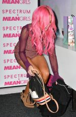 NICOLA HUGHES at Spectrum and Mean Girls Burn Book Launch Party in London 07/26/2017