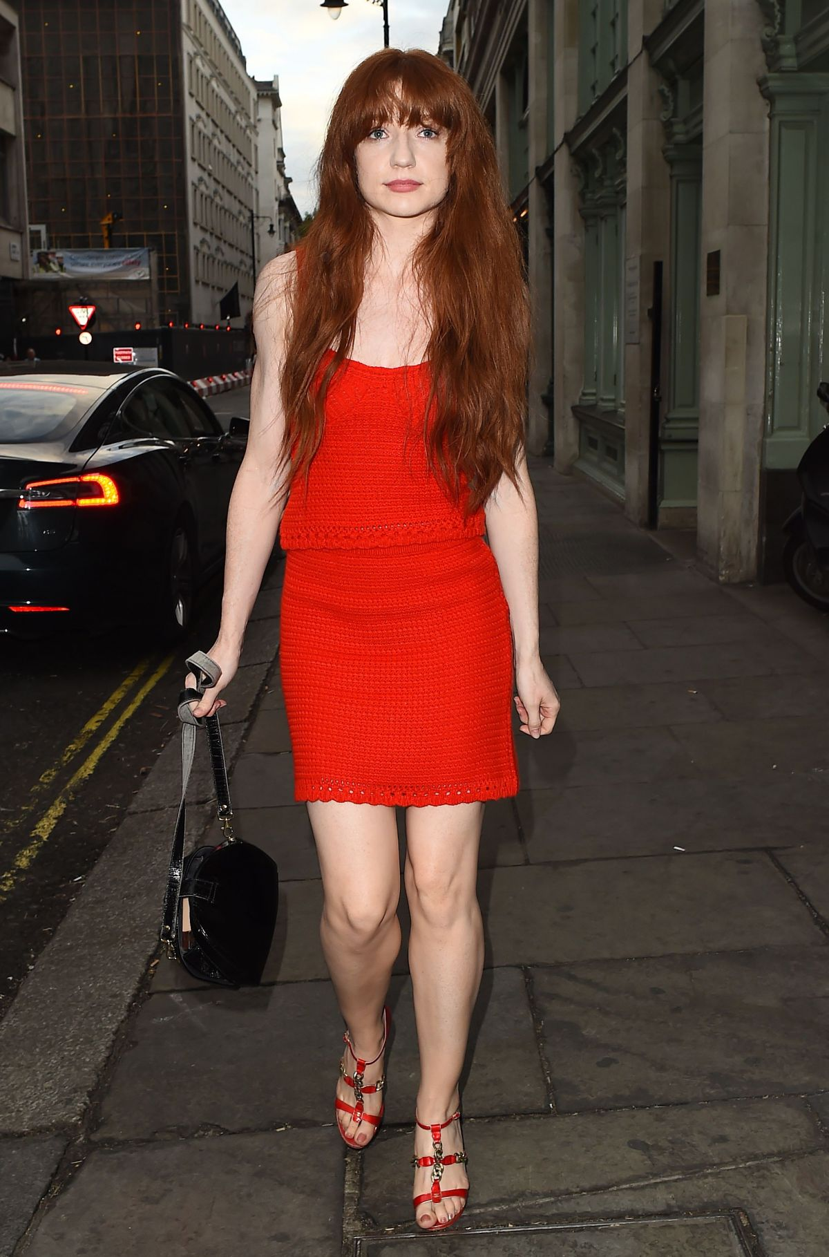 NICOLA ROBERTS at Tramp Nightclub in London 07/04/2017
