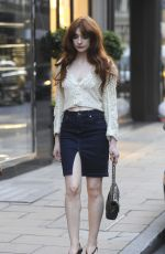NICOLA ROBERTS Out and About in London 07/06/2017