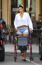 NICOLE MURPHY Out for Lunch at Urth Caffe in Beverly Hills 07/18/2017