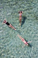 NICOLE SCHERZINGER in Bikini at a Beach in Mykonos 07/02/2017