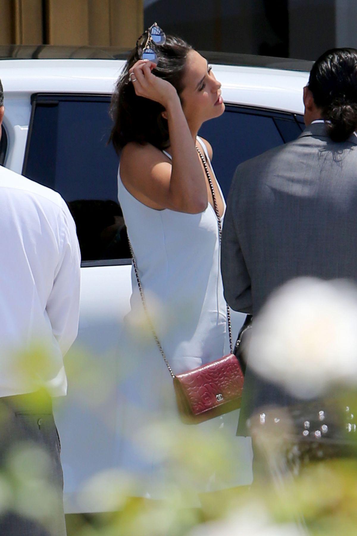 NINA DOBREV at Beverly Hilton Hotel in Los Angeles 07/14/2017