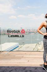 NINA DOBREV at Reebok & Les Mills Present Ultimate Staycation in New York 07/20/2017