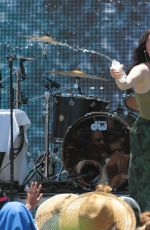 NOAH CYRUS Performs at Y100 Mack-a-poolooza Festival in Miami 07/15/2017