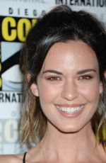 ODETTE ANNABLE at Supergirl Press Line at Comic-con in San Diego 0722/2017