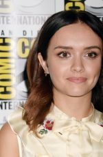 OLIVIA COOKE at Ready Player One Press Line at Comic-con in San Diego 07/22/2017