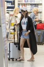 OLIVIA MUNN Arrives at Airport in Montreal 07/06/2017