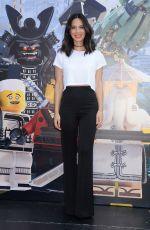 OLIVIA MUNN at The Lego Ninjago Movie Photocall at Comic-con International in San Diego 07/21/2017