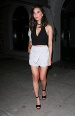 OLIVIA MUNN Night Out in West Hollywood 07/13/2017