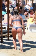 OLYMPIA VALANCE in Bikini at a Beach in Mykonos 07/07/2017