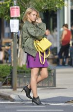 SOFIA RICHIE on the Set of a Photoshoot in New York 07/07/2017