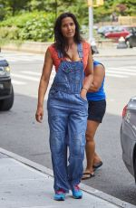 PADMA LAKSHMI Out in New York 07/08/2017