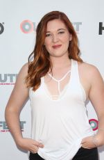 PAIGE NELSON at Strangers TV Show Screening at Outfest Los Angeles LGBT Film Festival 07/15/2017